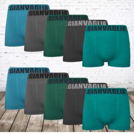 GIANVAGLIA boxershort heren basic 9702 10-pack