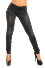 Jeans dames Redial grey