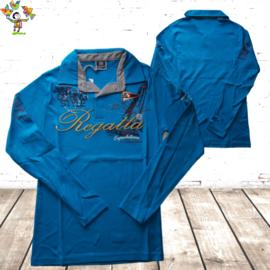 Herenpolo Regatta aquablauw M