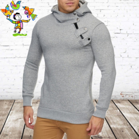 Sweater heren Cabin grijs L