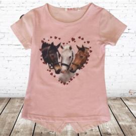 Paarden shirt hart