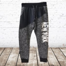 Joggingbroek New York d grijs 98/104