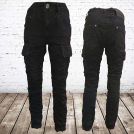 Zwarte jongens jeans 96882