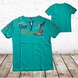 Heren t-shirt Regatta mint