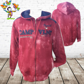 Heren vest camp vlnt 2 rood M