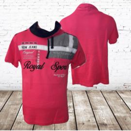 t-shirt Royal sport roze