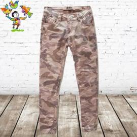 Roze army broek 110/116