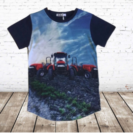 t-shirt met trekker ZK01