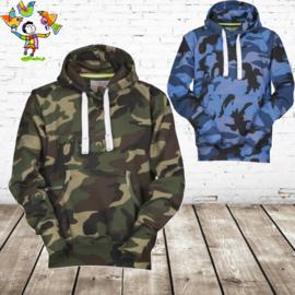 Hoodies camouflage print
