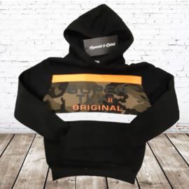 Jongens hoodie Original oranje