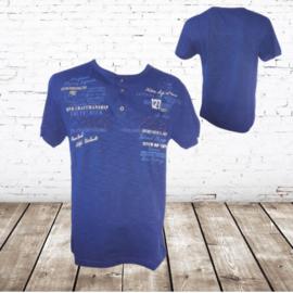 Heren t-shirt Stilo verso donkerblauw