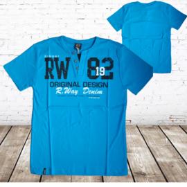 Blauw t-shirt RW