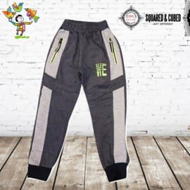 Joggingbroek WE donkergrijs  98/104