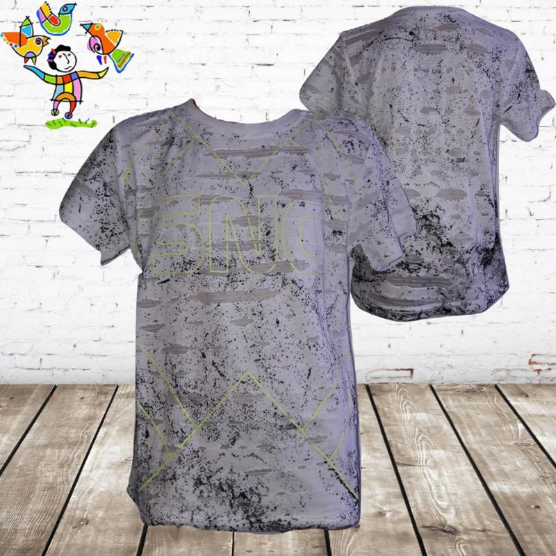 Jongens T-shirt SNC wit  158/164