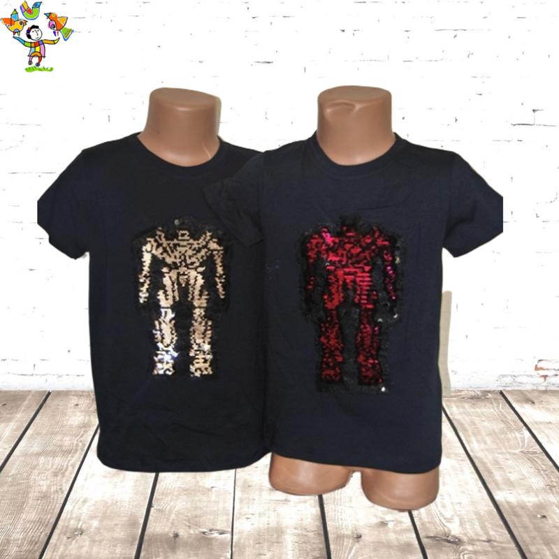 Jongens T-shirt robot marine  14