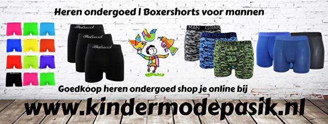 Heren ondergoed | Boxershorts heren | Kindermode PASik