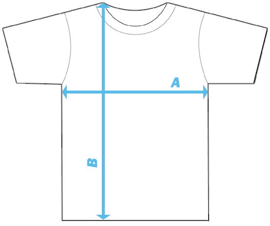 Maat tabel Heren t-shirts | Kindermode PASik