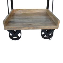 Bakkerskast op wielen