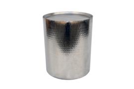 Salontafel Drum Zilver/rvs