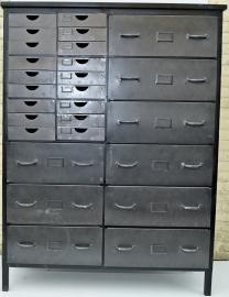 Industriële archiefkast Kington
