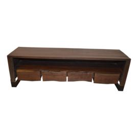 Boomkant tv meubel