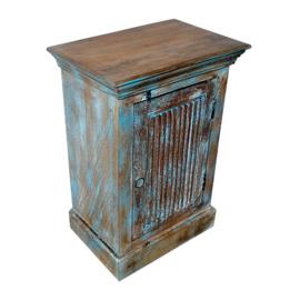 Nachtkastje Vintage (blauw)