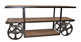 Side table op wielen