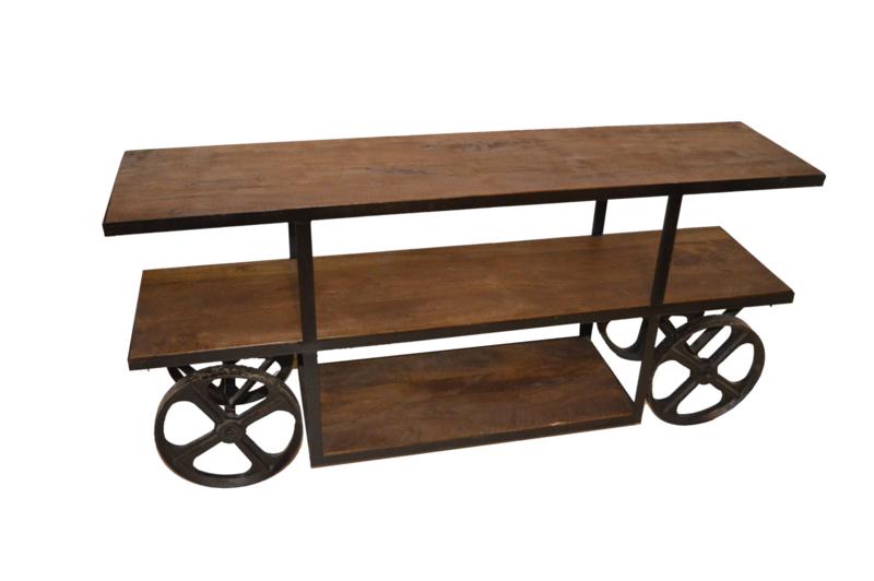 Sidetable Op Wielen.Side Table Op Wielen Wandtafels Lodzz For Home Living