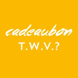 Cadeaubon t.w.v.?