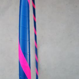 Kinderhoepel - blauw/roze