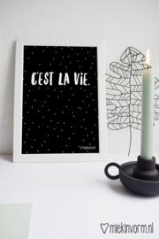 C'est la vie | A4-Poster