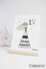 Tipi | A4-Poster