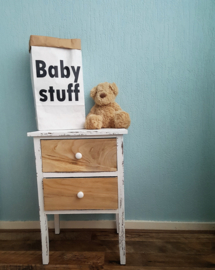 Paperbag XS Baby stuff