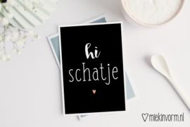 Hi schatje | Ansichtkaart
