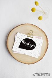 Thank you so much | Ansichtkaart
