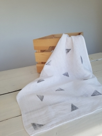 Hydrofiele doek Triangle black (60x60cm)