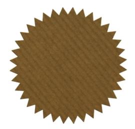 Sticker | deco star | kraft