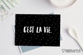 C'est la vie | Ansichtkaart