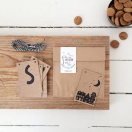 DIY Partyslinger mini-kaartjes | Welkom Sint & Piet
