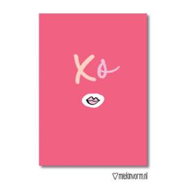 XO | Ansichtkaart