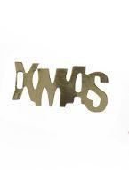 X-MAS   paperlabels   Metalic gold