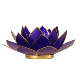Lotus sfeerlicht waxine indigo