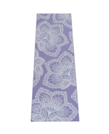 Extra Dikke Yogamat | Lavendel met Lotus Print