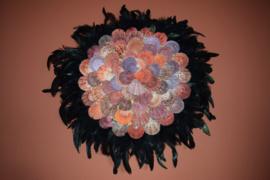 Wanddecoratie 'jujuhat ibiza'