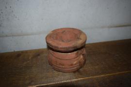 Houten kaarsen standaard (2)