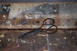 Oude ijzeren schaar