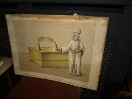 Bijbelse schoolplaat Ark des verbonds