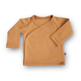 Overslag shirt Rib (Fenugreek Brown)