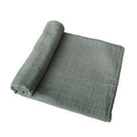 Hydrofiele Swaddle Blanket | 100% Organic Cotton (Roman Green)