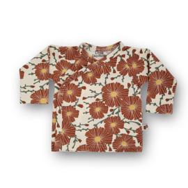 Overslag shirt Floral